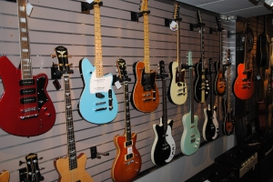 inside The Guitar Boutique