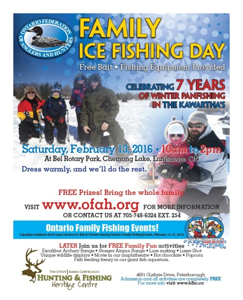 Winter fun near bethany bethany ontario for One day fishing license ca