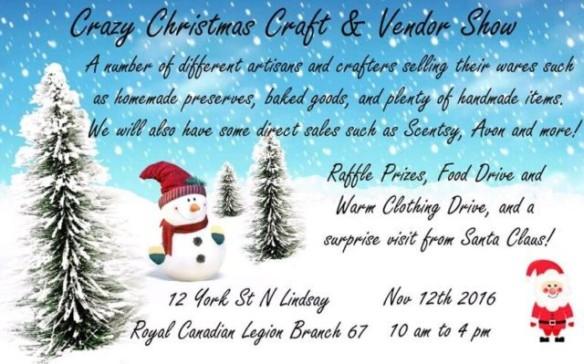 Christmas Craft Show Items.Christmas Craft Shows Bethany Ontario